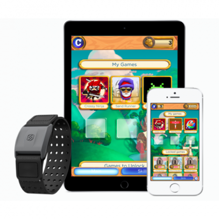 Mightier App displayed on ipad, smartphone with watch accessory