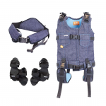 Upsee harness, belt and sandals