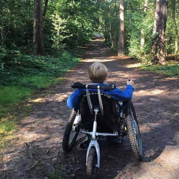 Trekinetik on bush track