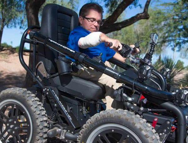 Terrain Hopper Offroad Wheelchair