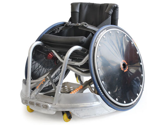Melrose Titanium Rugby Wheelchair
