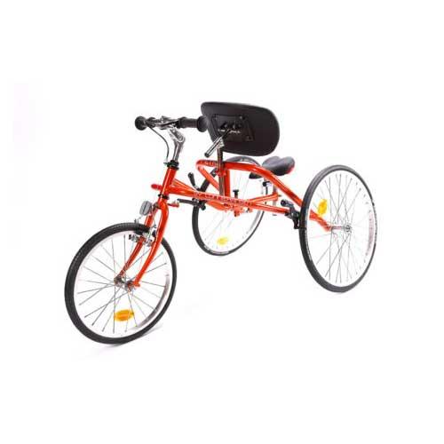 orange and black Petra running bike